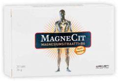 MAGNECIT  MAGNESIUMSITRAATTI + B6-VITAMIINI 30 TABL