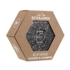 Ben & Anna Lovesoap Elm Wood Shower & Shampoo palasaippua  60 g