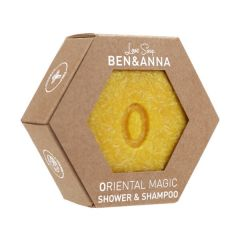 Ben & Anna Lovesoap Oriental Magic Shower & Shampoo palasaippua  60 g